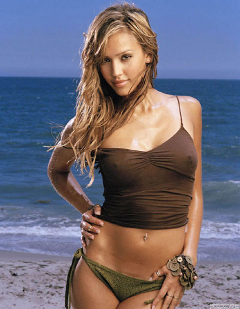 model which explains why Jessica Alba's walk