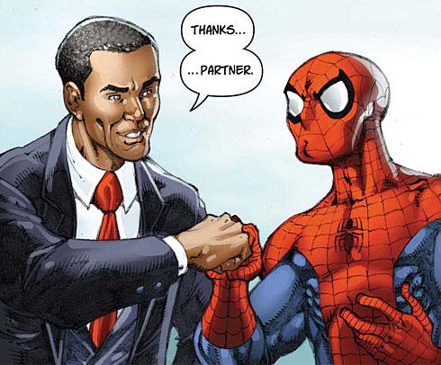 obama-spider-man