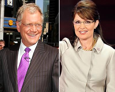 Letterman Palin