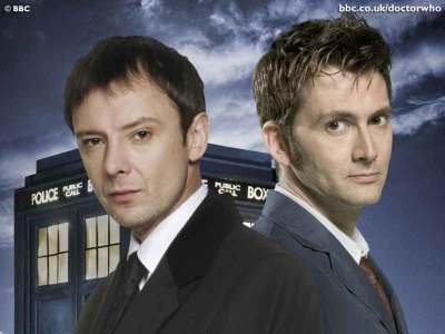 John Simm David Tennant the Doctor and the Master