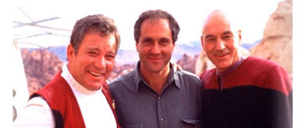 Rick Berman Captain Kirk Picard
