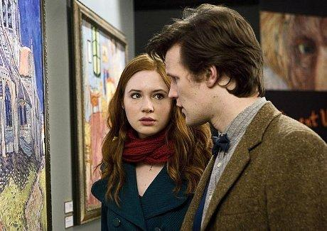 Doctor Who Amy Pond Vincent and the Doctor