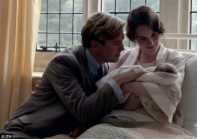 Downton Abbey Birth