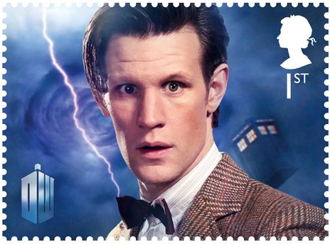 Matt Smith Stamp