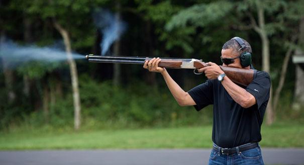Obama shooting