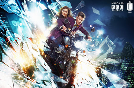 Doctor Who Return Motorbike
