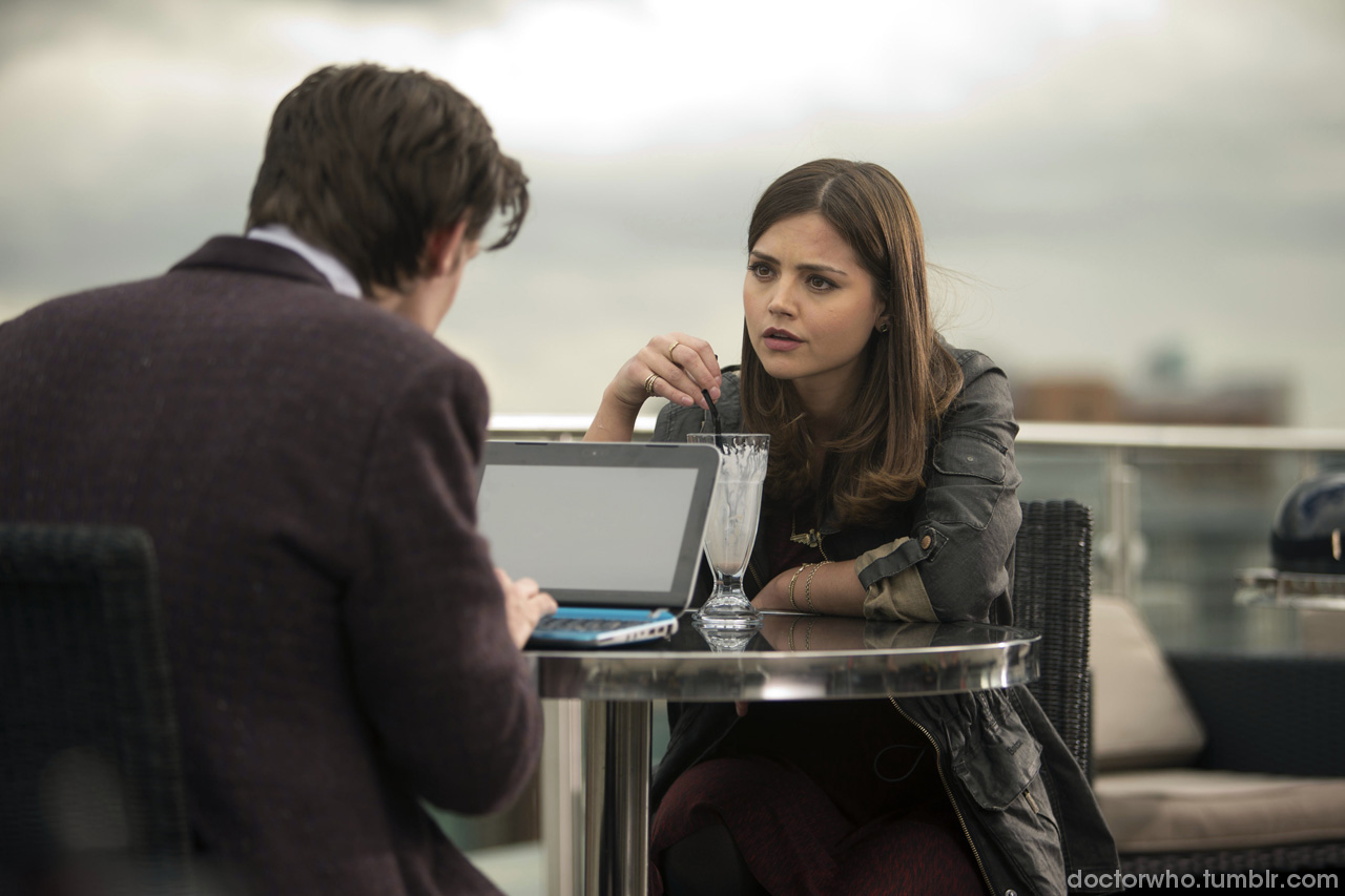 Doctor and Clara notebook