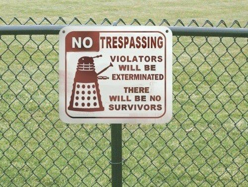 Daleks Trespassing