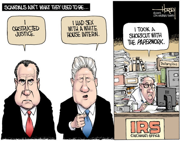 Scandals cartoon