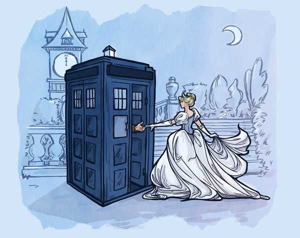 Disney-Princesses-TARDIS-1