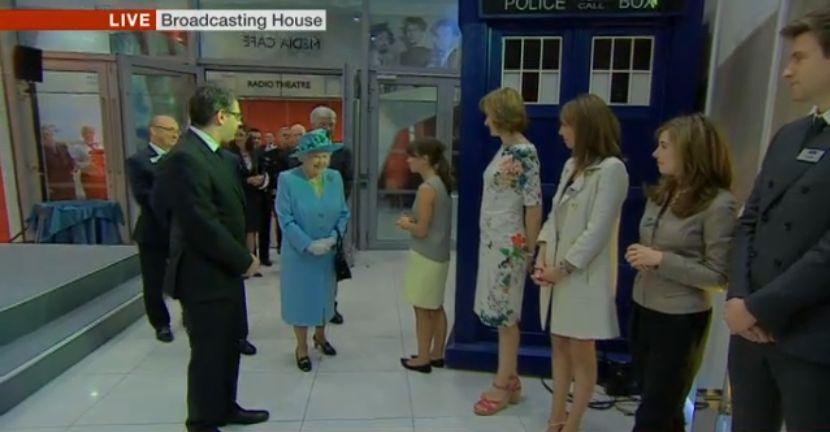 Queen TARDIS