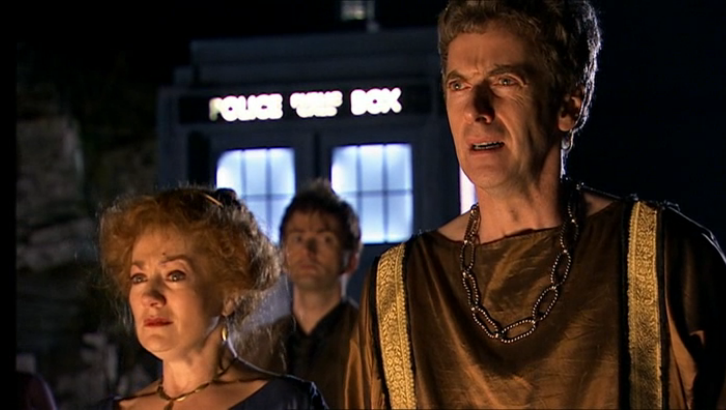 Peter Capaldi Fires of Pompeii