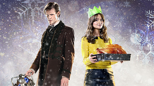 Doctor Who Christmas Card