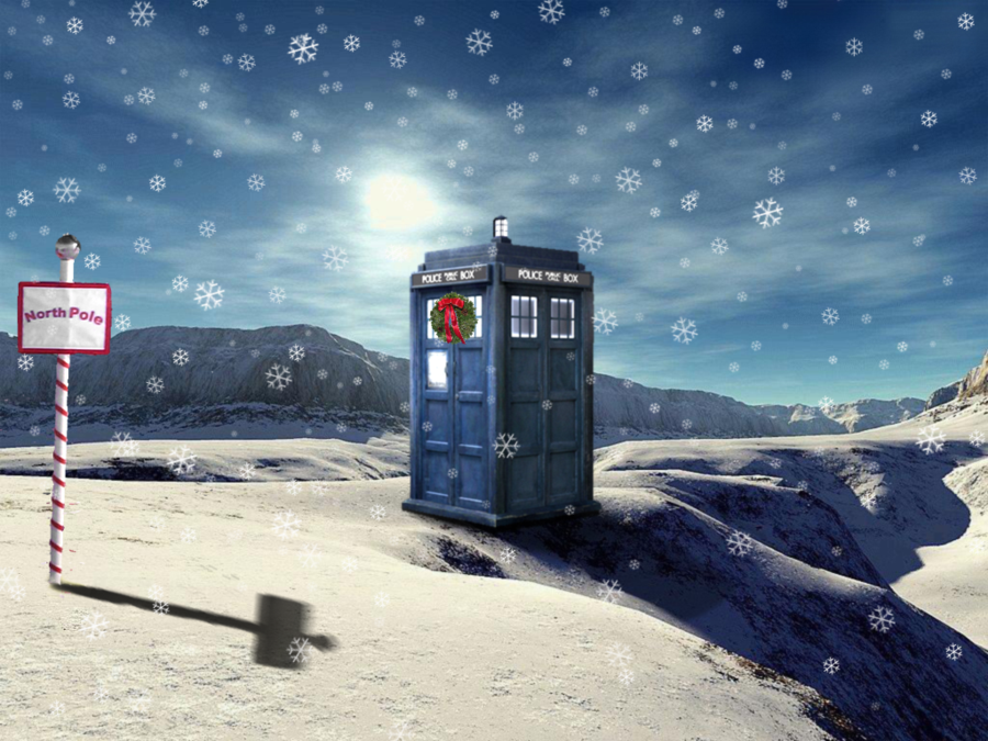 Tardis North Pole