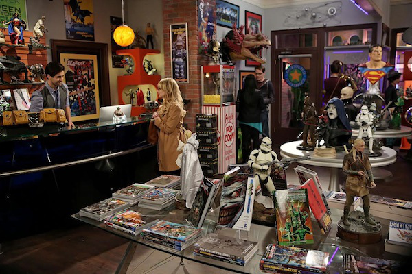 the-big-bang-theory competing comic book store