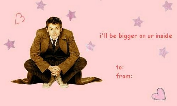 Doctor Who Valentines 2