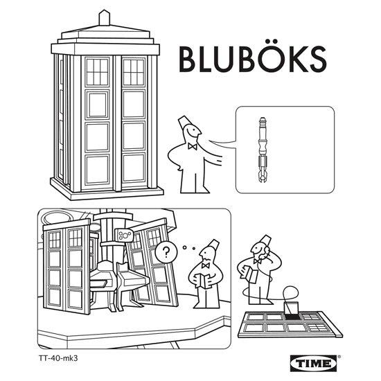 TARDIS Ikea