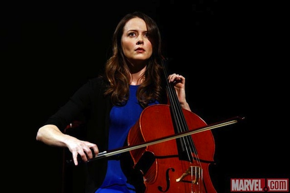 Amy Acker SHIELD The Cellist