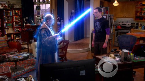 Big Bang Theory Professor Proton Star Wars Day