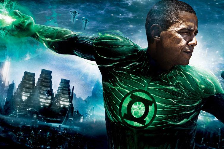 Obama Green Lantern