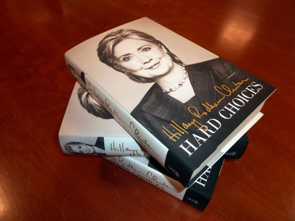 US-POLITICS-CLINTON-BOOK-ILLUSTRATION
