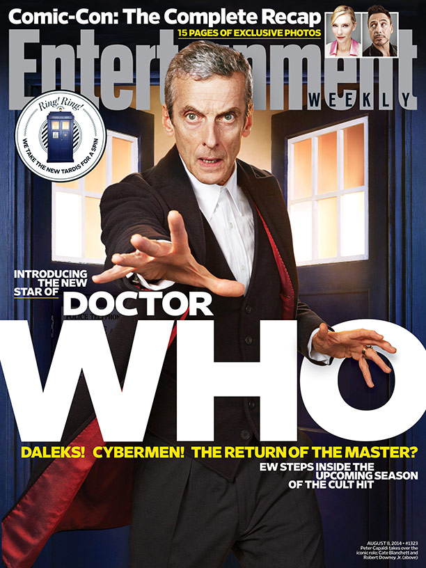 Doctor Who Entertainment Weekly Capaldi