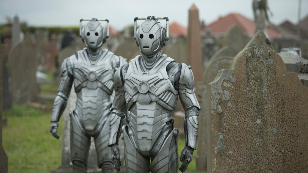 Doctor Who Death in Heaven Cybermen Zombies