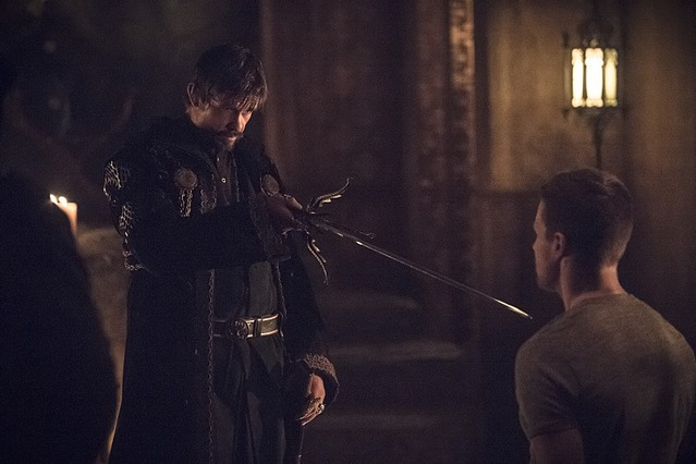 Arrow Oliver and Ra's al Ghul