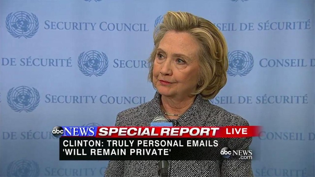 Clinton News Conference