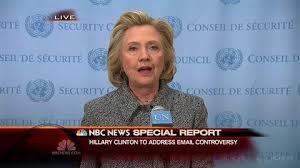 Clinton Press Conference NBC