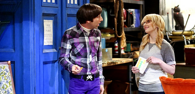 Big Bang Theory TARDIS