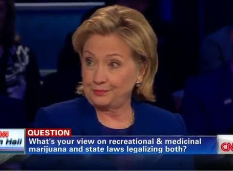 Clinton Marijuana