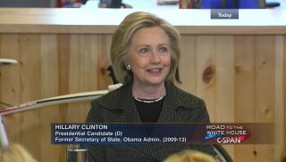 Hillary Clinton CSPAN Iowa