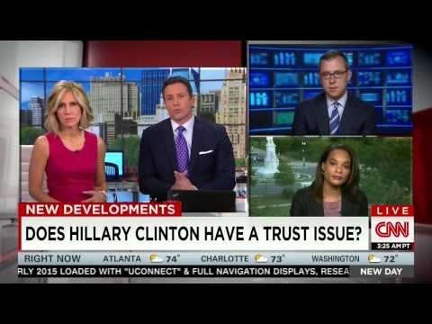 CNN Clinton Trust Issue