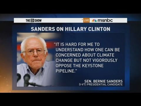 Sanders on Clinton Keystone XL