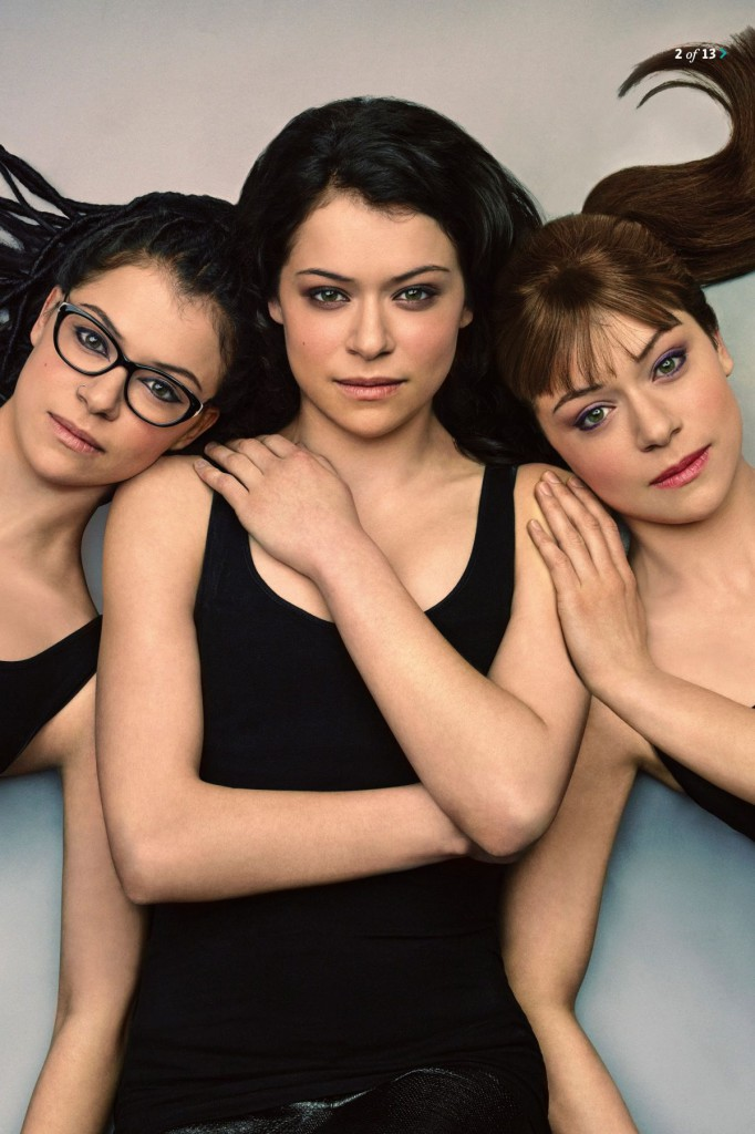 Tatiana Maslany Three Clones