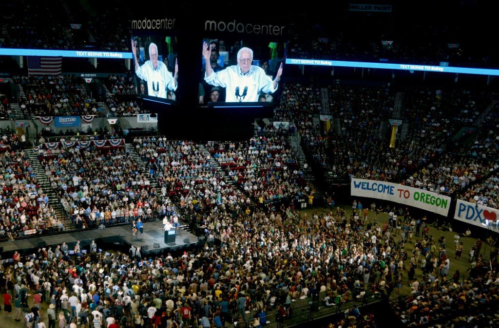Bernie Sanders Oregon