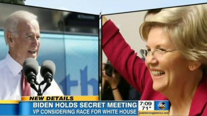 Biden Warren meeting