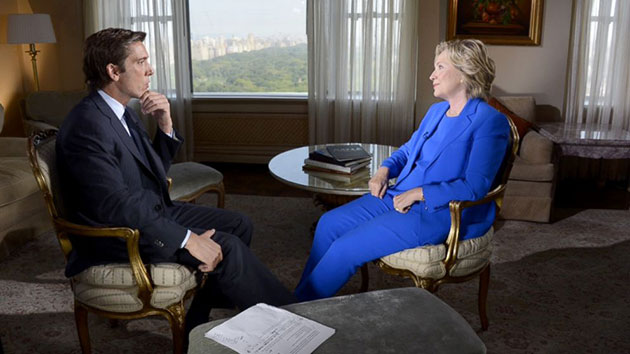Clinton interview ABC News