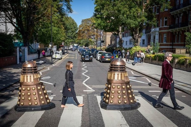 Doctor Who Daleks Abbey Road