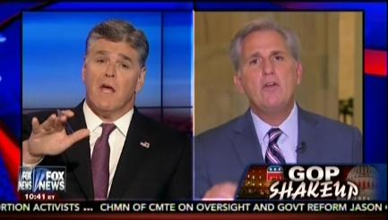 Hannity McCarthy Benghazi