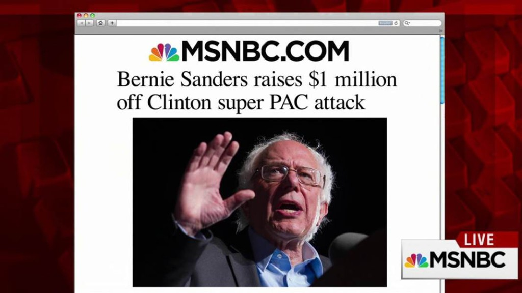 Sanders Raise Money Clinton Super Pac