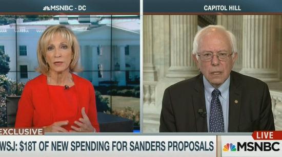 Sanders Responds WSJ