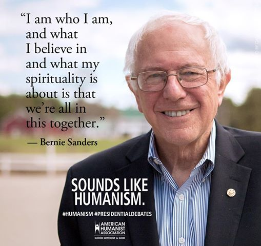 American Humanist Organization Sanders Humanism