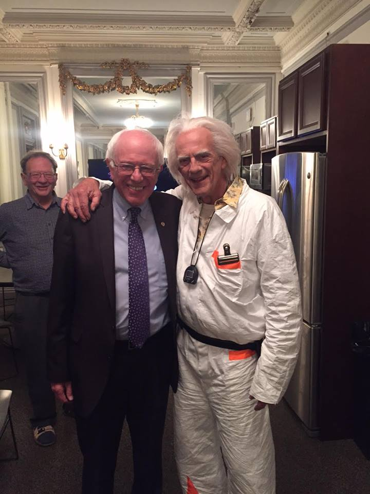 Bernie Sanders Back To The Future