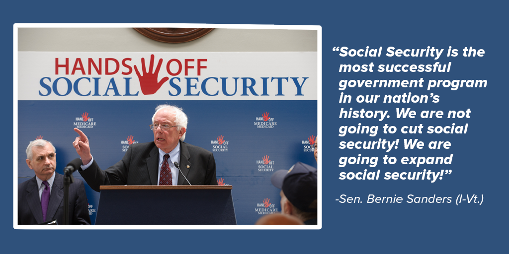 Bernie Sanders Expand Social Security