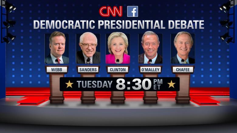 CNN Democratic Debate