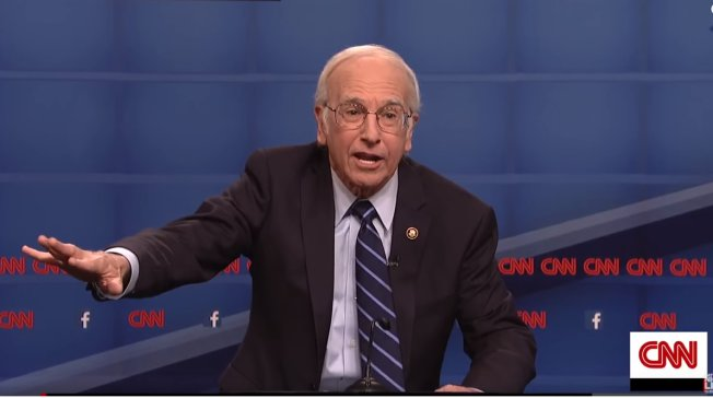 Larry David Bernie Sanders