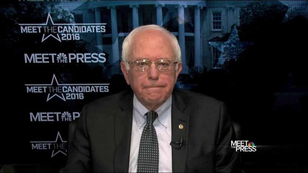 Sanders Meet the Press