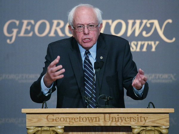 Bernie Sanders Georgetown Speech